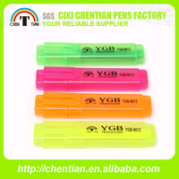 Hot Sale Top Quality Best Price Fluorescent Pen With Double Headers
