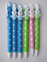 Corporate Merchandise/ New Cute Ball Pen with Clip for promotion/Personalized custom creative gift pen