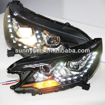 2012-2014 year For CRV LED Head Light for HONDA PWV1