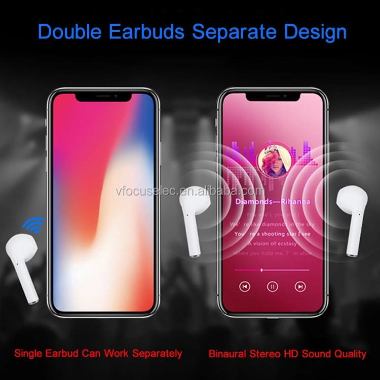 TWS i9s Earbuds Mini Stereo Wireless Earphone Bluetooth 5.0 Ear Buds i9s Tws with Charging Case