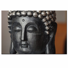 Large Artwork for Wall Decor Buddha Painting Printed on Canvas Zen Religion Picture Canvas Artwork for Living Room