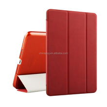 Slim pu leather tpu back customized color print Ultra thin pu leather Deerskin Texture case for Ipad mini4 for Apple ipad cover