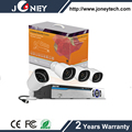 New design plug & play 1080P PLC ip bullet camera and NVR kits with least wires.