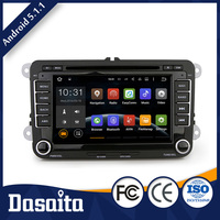 Capacitive Screen car gps mirror navigation for VW skoda