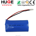 3.7V ICR18650 2700mAh rechargeable Li-ion battery for electric scooter