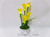 Energy-saving beautiful look artificial flowers with led lights led flowers for sale