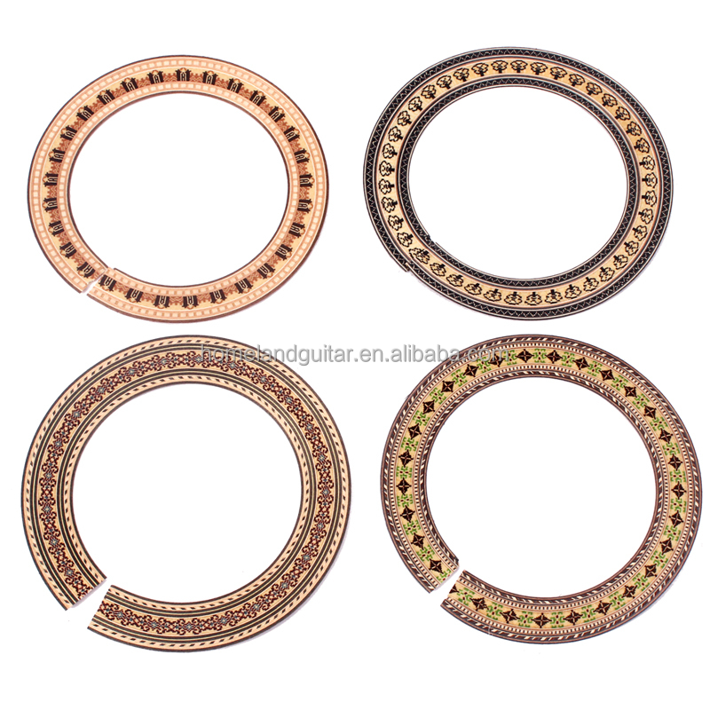 Wood Soundhole Rosette For Classical guitar Rosette