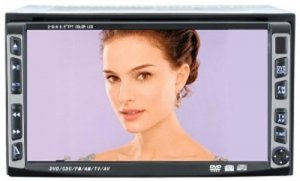 6. 5 Two-Din Car DVD