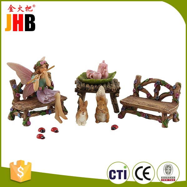 Fairy Action Beeldjes Voor Tuin Decor, Pretty Fairy Collectible Figuur Set