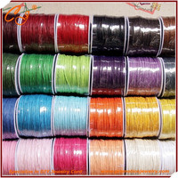 Best Selling Korean Waxed Cord Round for Diy Braclet Making , Waxed Cord Thread 1.5mm