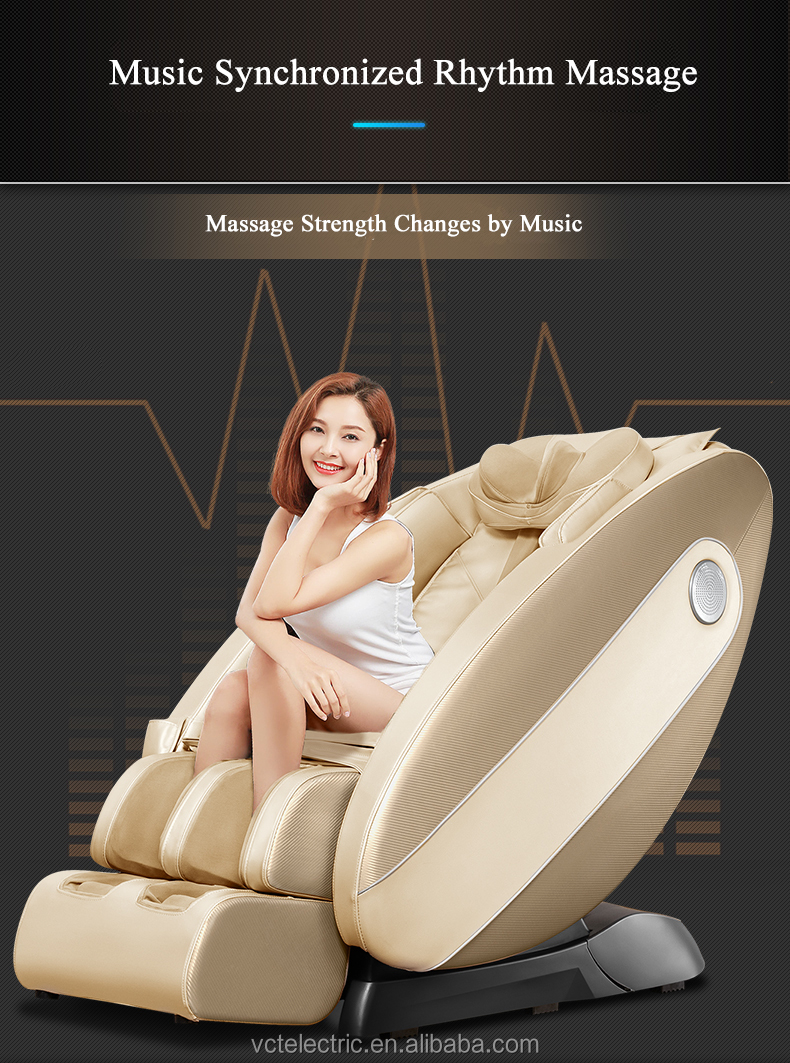 China Wholesale Whole Body Kneading Massage Multifunctional Electric Massage Chair