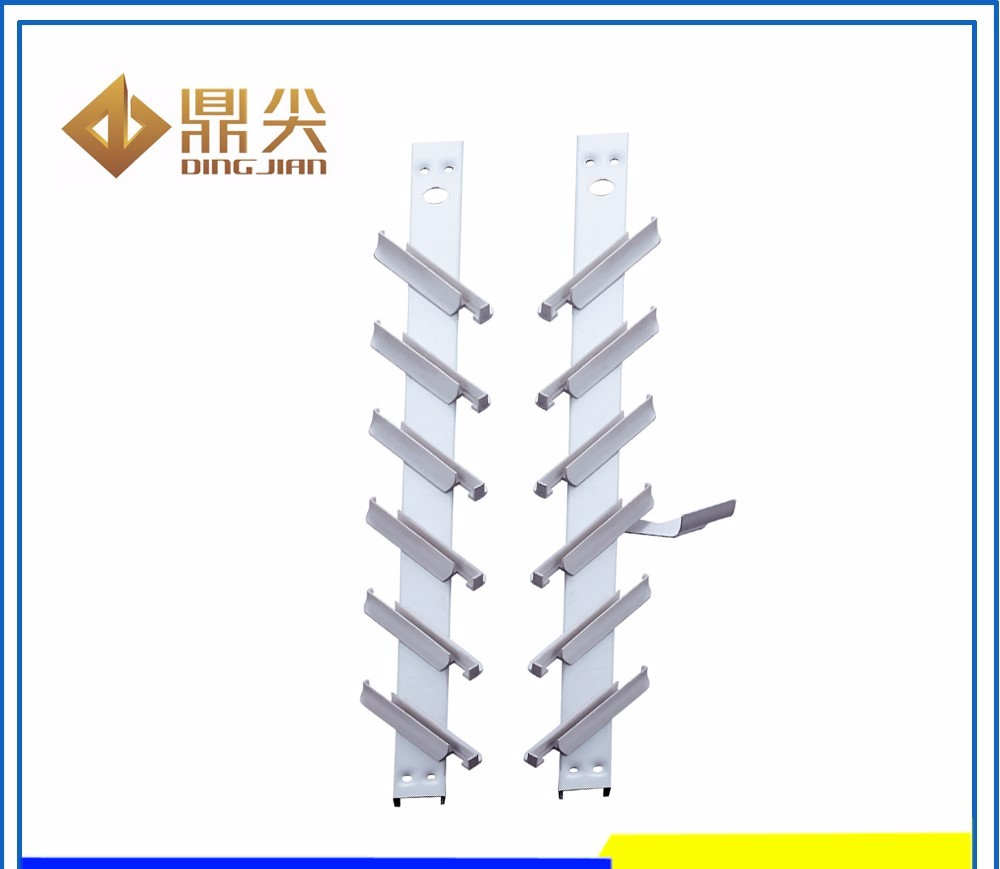 hot sale 11 blade PP clip aluminium single contral louver glass window frames