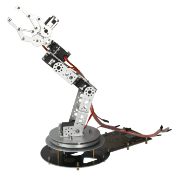 Aluminium Robotic Arm Educational Robot with 32 Channels Servo Control Kit