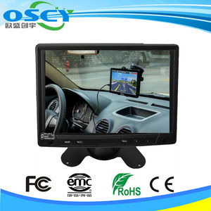 monitor pc 7 inch tft car 12v monitor with camera