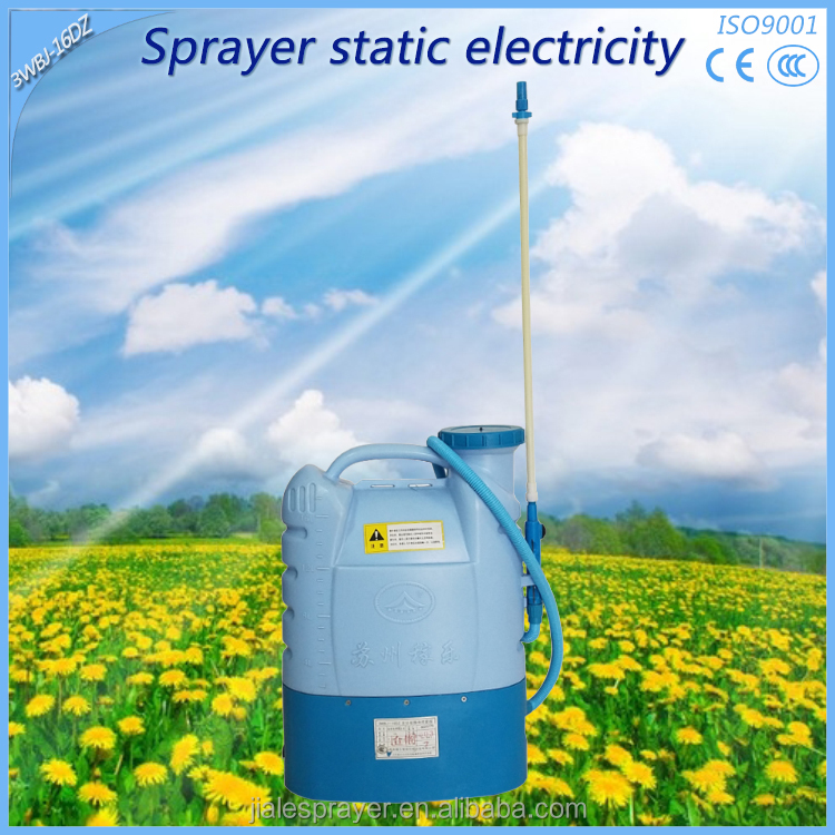 New operated garden agricultural pumps electrostatic insecticide sprayer