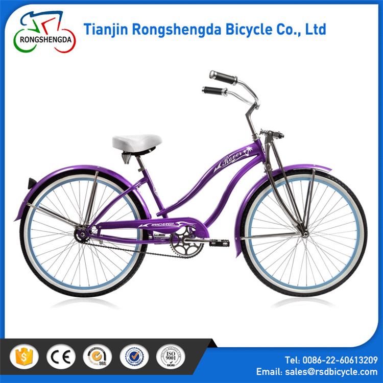 26'' Lady Beach Cruiser Bicycle cheap promotion bike beach cruiser bike men city bicycle