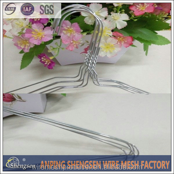 electrical wire hangers metal wire clothes hangers dry cleaners wire hangers factory with high quality