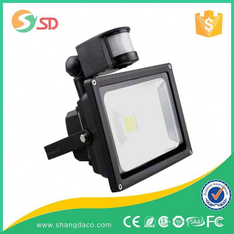 outdoor solar motion sensor 30w led cob flood light