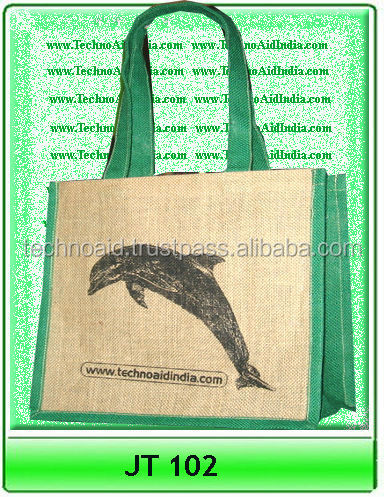 Custom Shopping Bags like Jute and Cotton