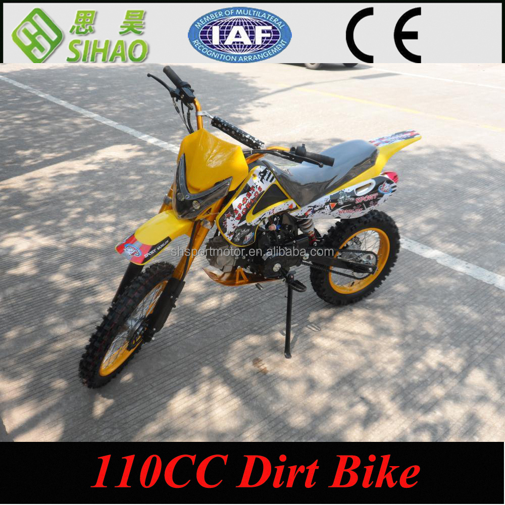 110cc 4 stroke mini dirt bike