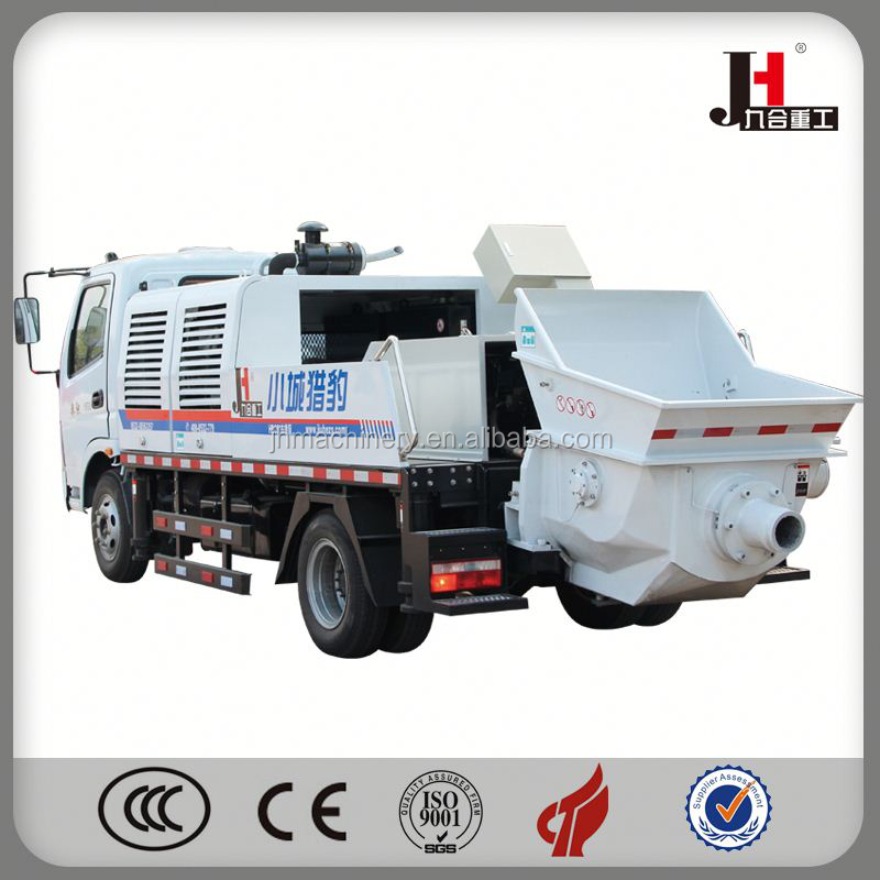 2015 Kyokuto Truck Mounted Concrete Pump
