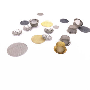 Smoking pipe parts mesh screen filter disc smoking screen / metal bowl screen for smoking pipe
