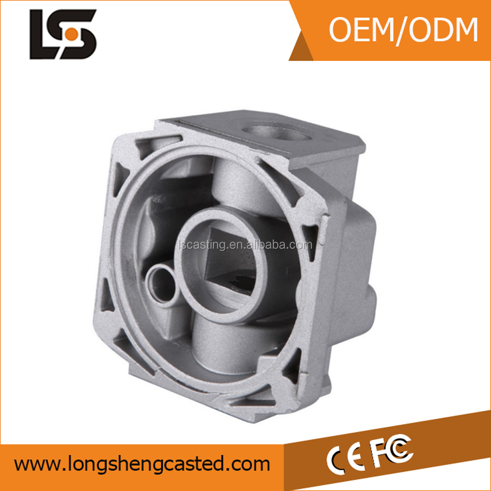 aluminium die casting Gas Valve Box from china supplier