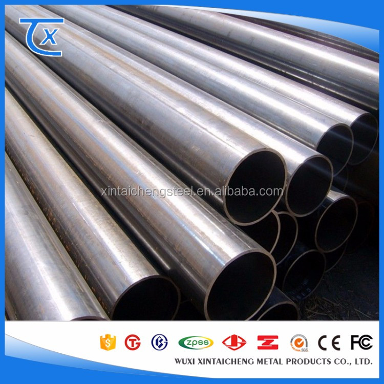 Cold Rolled Steel Pipe ASTM A120 Carbon Seamless Round Pipe with Free Sample