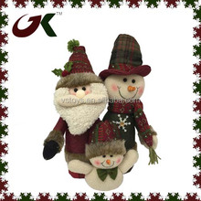 mini snowman christmas snowman santa family combination