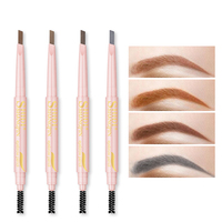 HANYING Private Label Waterproof Double Head Concealer Eyebrow Pencil