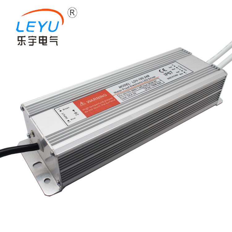 waterproof LDV-100W supplies AC DC 220 volts switching power supplies LED drive