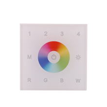 DMX 512 Wireless Wall Mounted 4Zone RGB White RGBW LED Controller