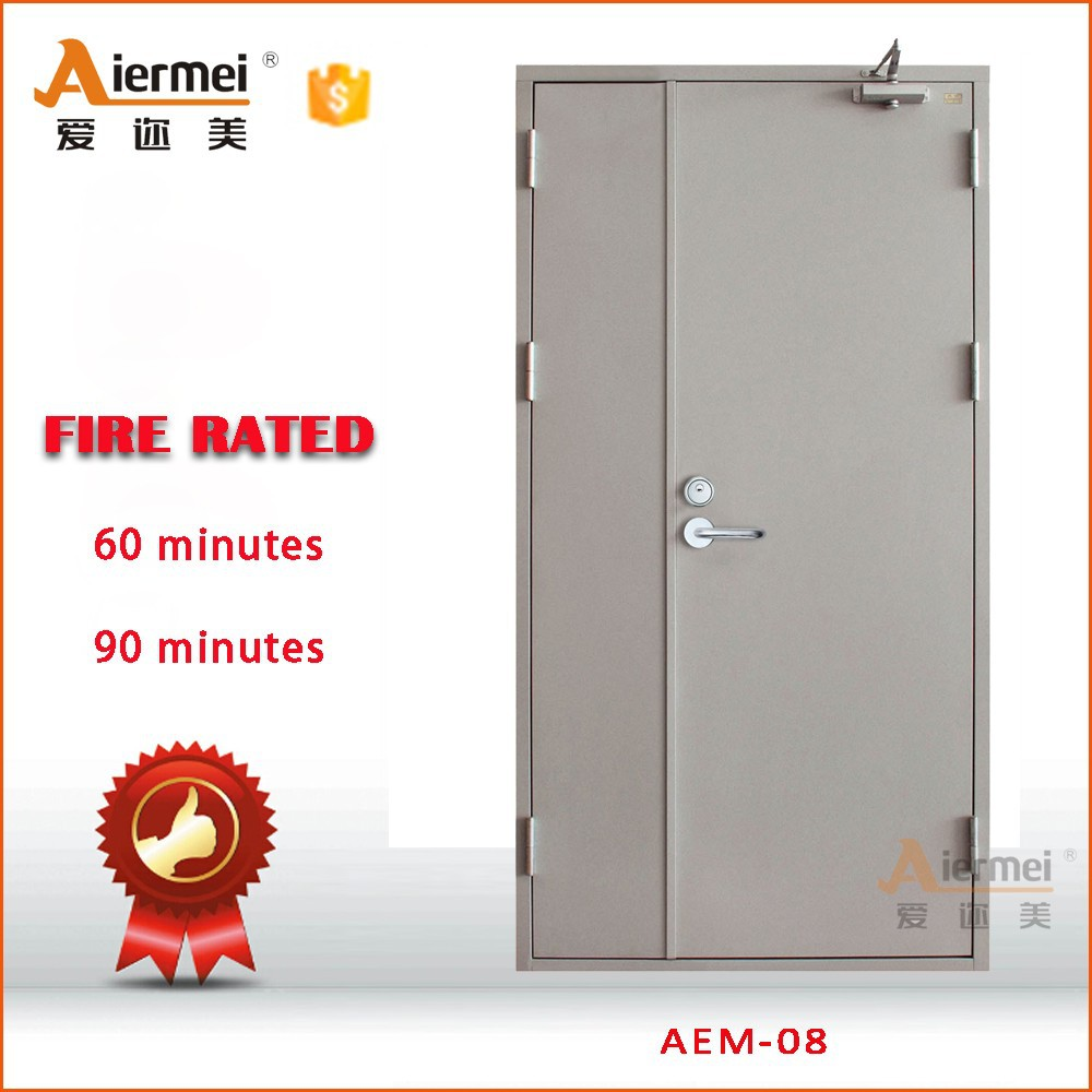 emergency exit steel metal door fireproof hotel fire rated door
