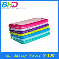 Crestal jelly case for Samsung galaxy note2 N7100