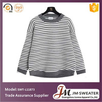 China supplier fashion knit sweater for young girls