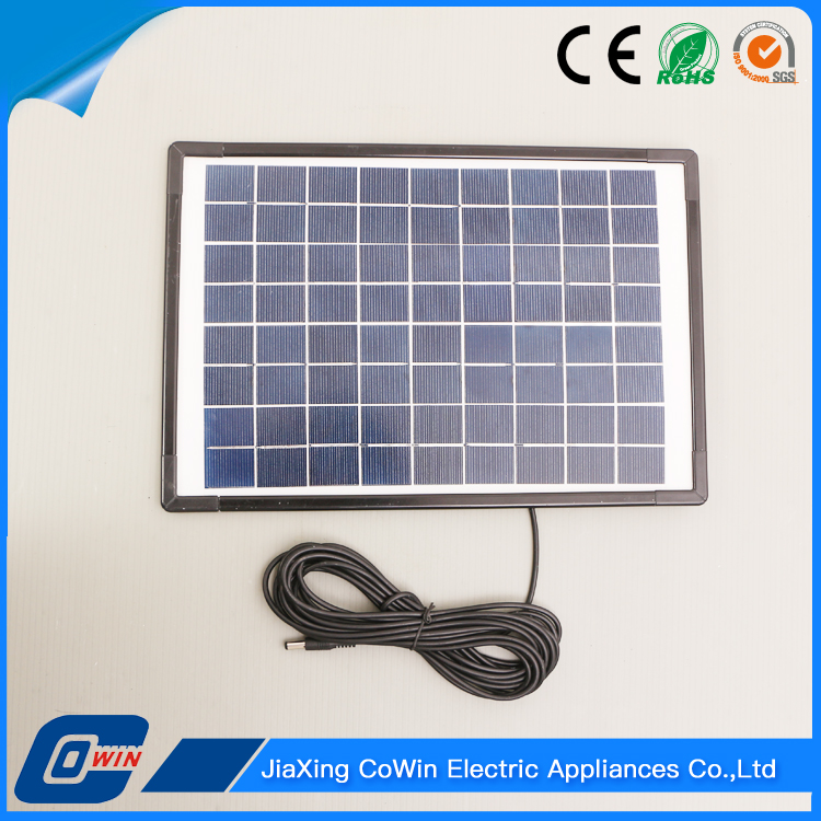 Home Application Good Quality 10W Amorphous Silicon Solar Panel