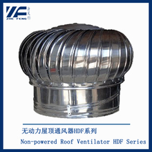 Stainless steel chimney cap thin roof turbine ventilator