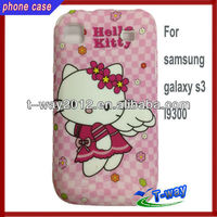 Hotsale hello kitty case for samsung galaxy s3 i9300
