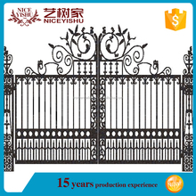 Hotel main gate for sale/safety with different style main gate designs/gate designs with galvanize sheet
