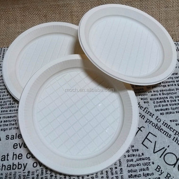 One Time Kitchen Utensil Organic Biodegradable Party Plate