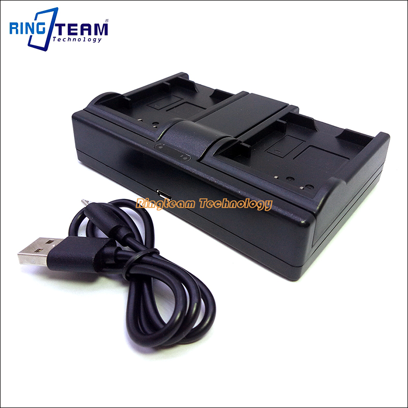 Battery Dual USB Charger BLS-5 BLS-50 BLS5 for Olympus PEN E-PL2 E-PL5 E-PM2 Stylus 1 1s OM-D E-M10 Mark II Digital Cameras