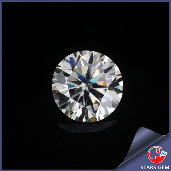 FOREVER BRILLIANT White Color Synthetic Moissanite Loose Diamonds Round Brilliant Cut