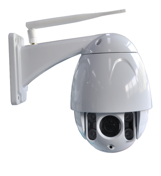 10X optical zoom P2P Outdoor IP66 waterproof ip camera with 22 LED lights