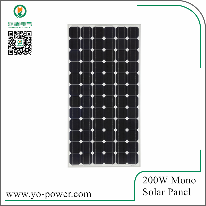 Yo power 200W Mono etfe flexible solar panel