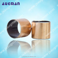 brass bearing bushing, SF-1 sintered bronze bushing, teflon bearing bushing