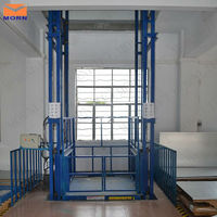 indoor 1ton hydraulic small home elevator for warehouse cargo
