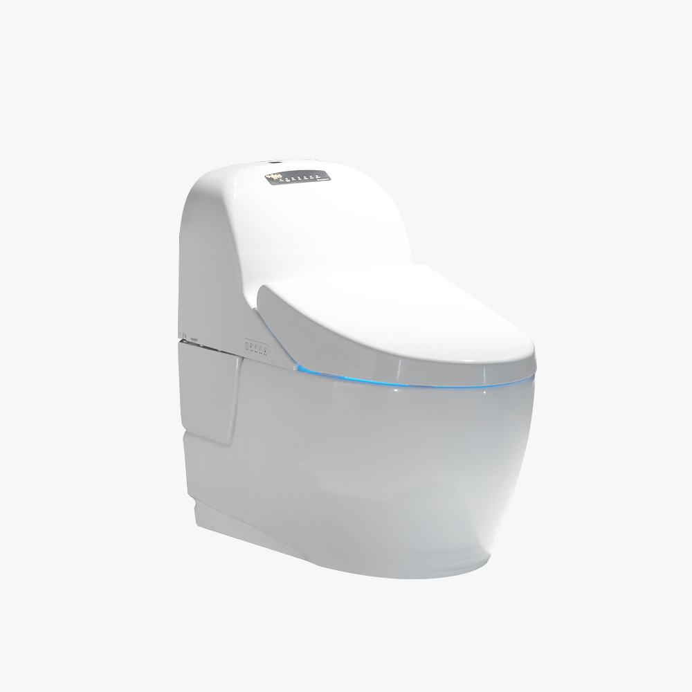 Siphon jet one piece toilet unique toilet design WC intelligent toilet