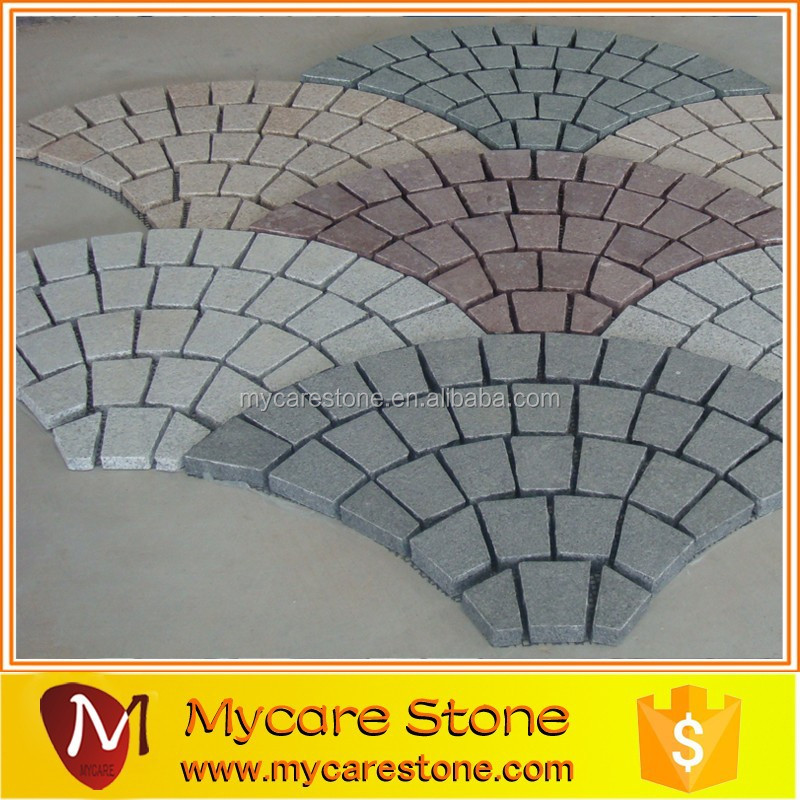 Beautiful driveway stone Granite pavers for driveways