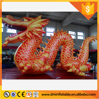 2016 Factory price giant inflatable dinosaur,inflatable dragon cartoon,inflatable mascot for advertsing for sale