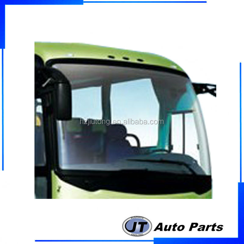 Bus Front Windshield Glass For Kinglong 6127Y OE 253300012